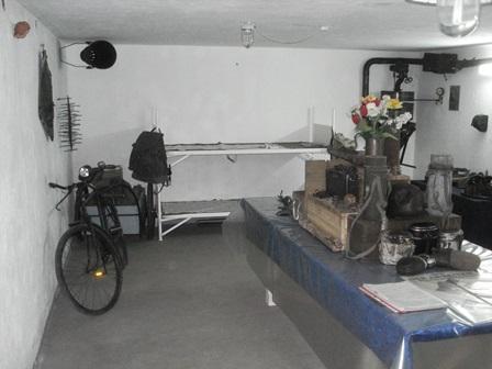 einer der Ausstellungsräume