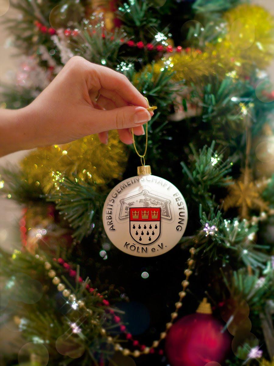 Weihnachtskugel AFK